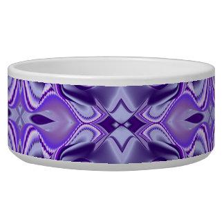 Purple Flower Dreams Dog Food Bowls