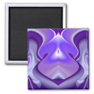 Purple Flower Dreams Magnet