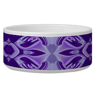 Purple Flower Dreams Pet Food Bowls