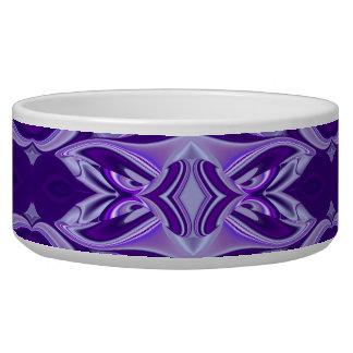 Purple Flower Dreams Pet Water Bowls