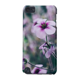 Purple Flower, Elegant Floral Photograph iPod Touch 5G Cover