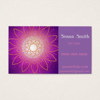 Purple Flower Fantasy Business Card