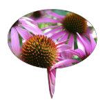 Purple Flower Figuras De Tarta