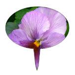 Purple Flower Figuras Para Tartas