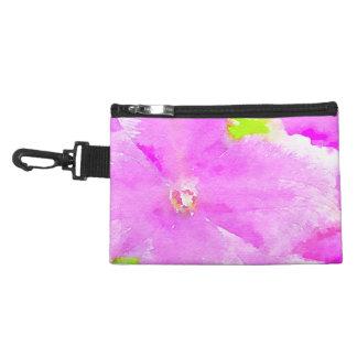 Purple Flower Floral Watercolor Background Accessories Bag