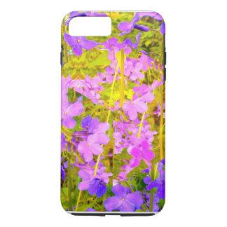 Purple Flower Garden iPhone 8 Plus/7 Plus Case