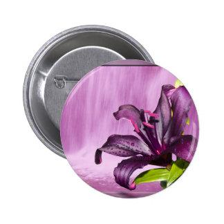Purple Flower Image Buttons