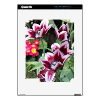 Purple Flower iPad 2 Decals