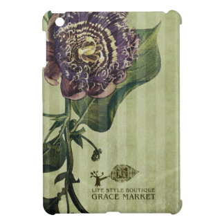 purple flower iPad Mini case