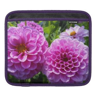 Purple Flower Sleeves For iPads