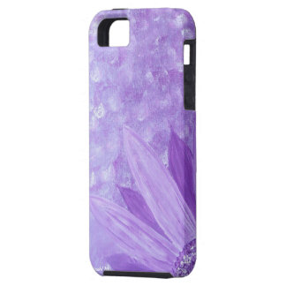 Purple Flower iPhone4 case iPhone 5 Cover