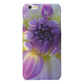 purple flower glossy iPhone 6 plus case