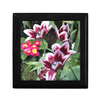 Purple Flower Keepsake Box
