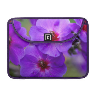 Purple flower MacBook pro sleeve