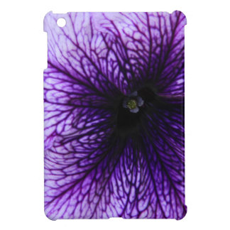Purple flower macro photography cover for the iPad mini