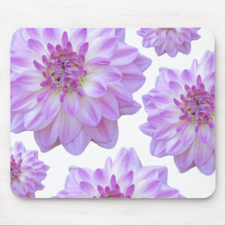 Purple Flower Mouse Pads