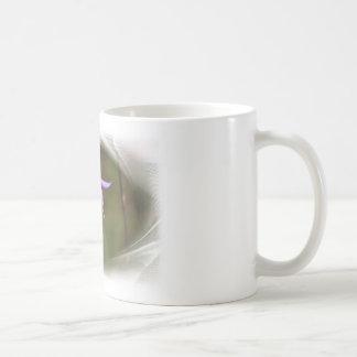 Purple Flower Classic White Coffee Mug