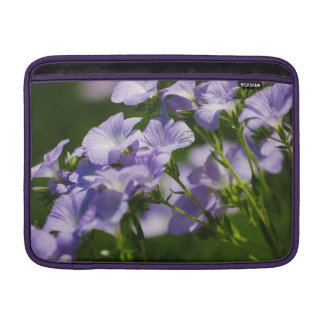 Purple Flower, Nature Photography, Floral Sleeve For MacBook Air