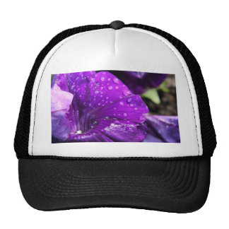 Purple Flower of Love Trucker Hat
