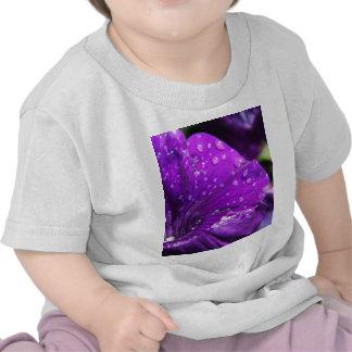 Purple Flower of Love Tee Shirt