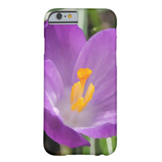 Purple Flower Oil Painting Barely There iPhone 6 Case