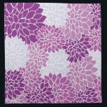 "Purple Flower Pattern Napkin<br><div class=""desc"">Pretty,  purple,  vintage flower pattern on home decor,  tableware and furnishings.</div>"