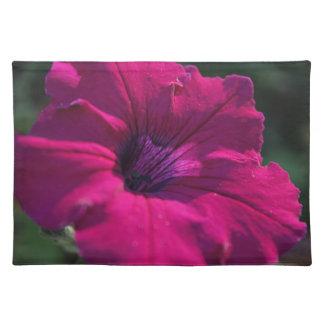 Purple Flower Placemat Cloth Placemat