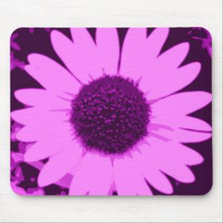 Purple Flower Power Mousepad