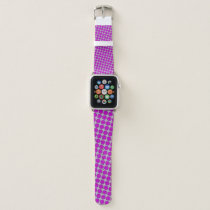 Purple Flower Ribbon by Kenneth Yoncich Apple Watch Band
