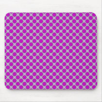 Purple Flower Ribbon by Kenneth Yoncich Mouse Pad