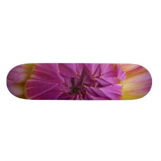 Purple Flower Skate Board Decks
