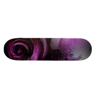 Purple Flower Custom Skateboard