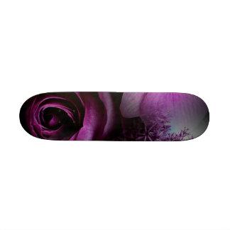 Purple Flower Skate Decks