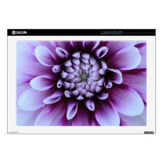 """Purple Flower Skin Skin For 17"""" Laptop"""
