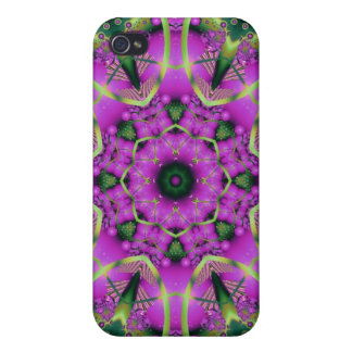 Purple Flower Speck Case Cases For iPhone 4