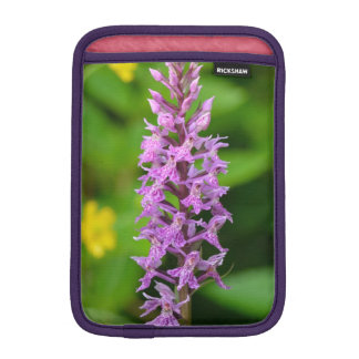 Purple flower spotted orchid protected species iPad mini sleeve