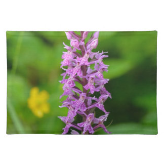 Purple flower spotted orchid protected species placemats