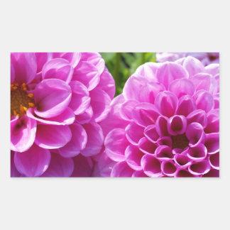 Purple Flower Stickers