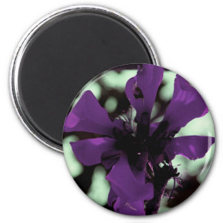 Purple Flower Thing Magnet