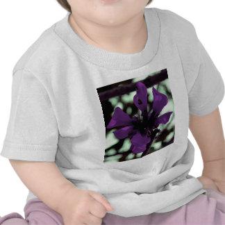 Purple Flower Thing Tee Shirts