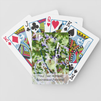 purple flower tree against sky  abstract invert bicycle playing cards