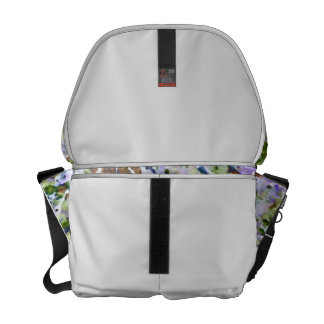 purple flower tree against sky  abstract invert courier bags