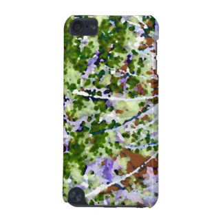 purple flower tree against sky  abstract invert iPod touch (5th generation) cover