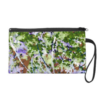 purple flower tree against sky  abstract invert wristlets