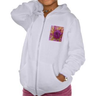 Purple Flower Pullover
