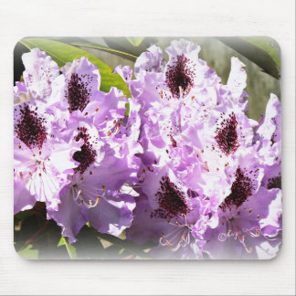 Purple Flowers 3 Mouse Pad