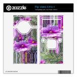 Purple flowers 4 decal for flip ultra II