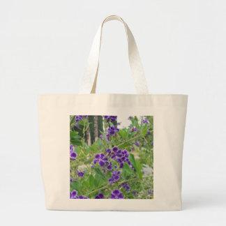 Purple Flowers Bag
