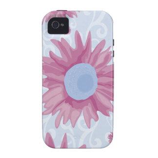 Purple Flowers iPhone 4 Case