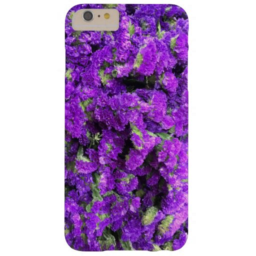 Purple Flowers Barely There iPhone 6 Plus Case